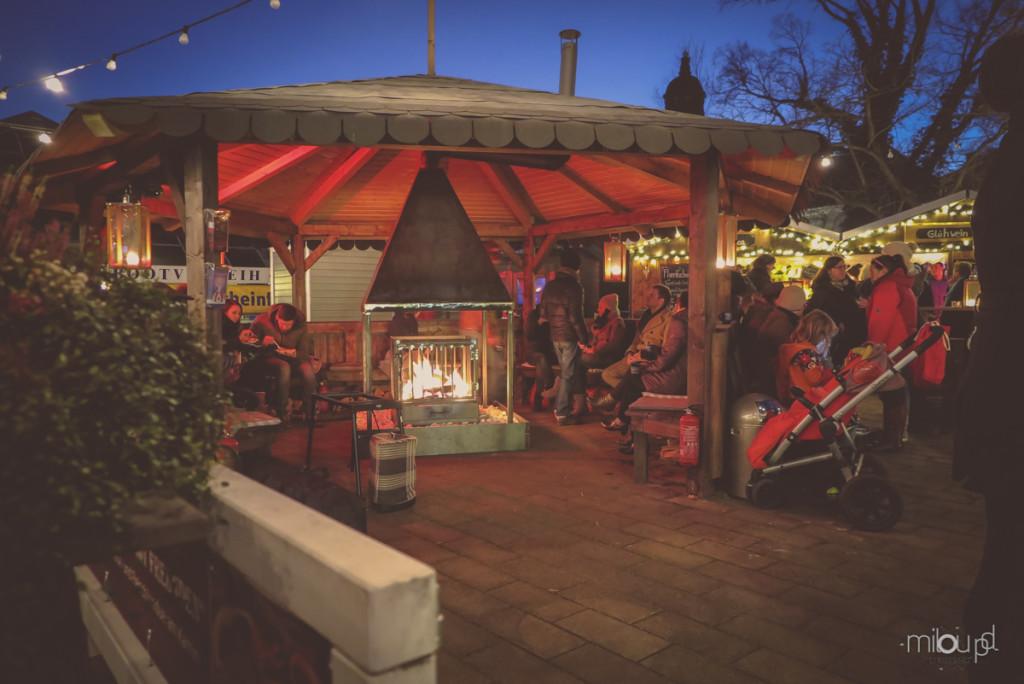 Fotografieren auf Weihnachtsmärkten - Hütte