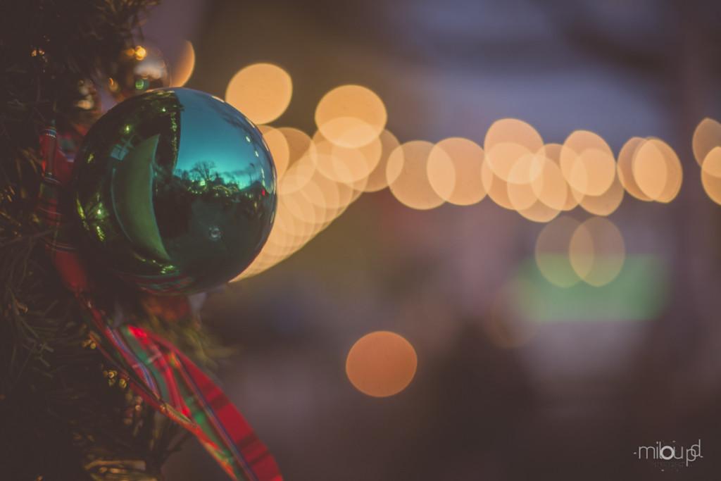 Fotografieren auf Weihnachtsmärkten - Kugel