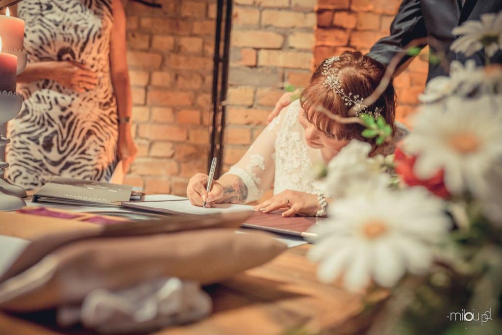 Unterschrift Janek und Denise - Hochzeitsfotografie - Hochzeit