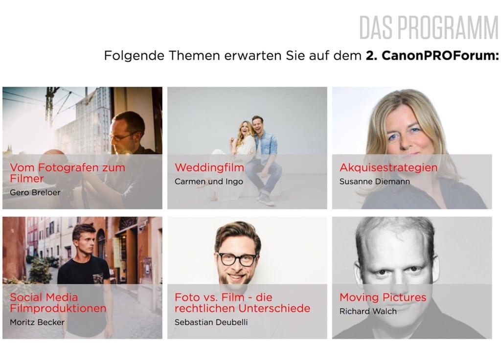 Canon-Pro-Forum-2018-das-Programm
