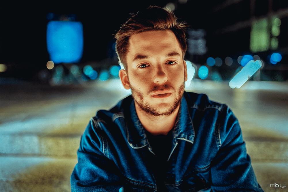 Portraits bei Nacht fotografieren - Miro direct